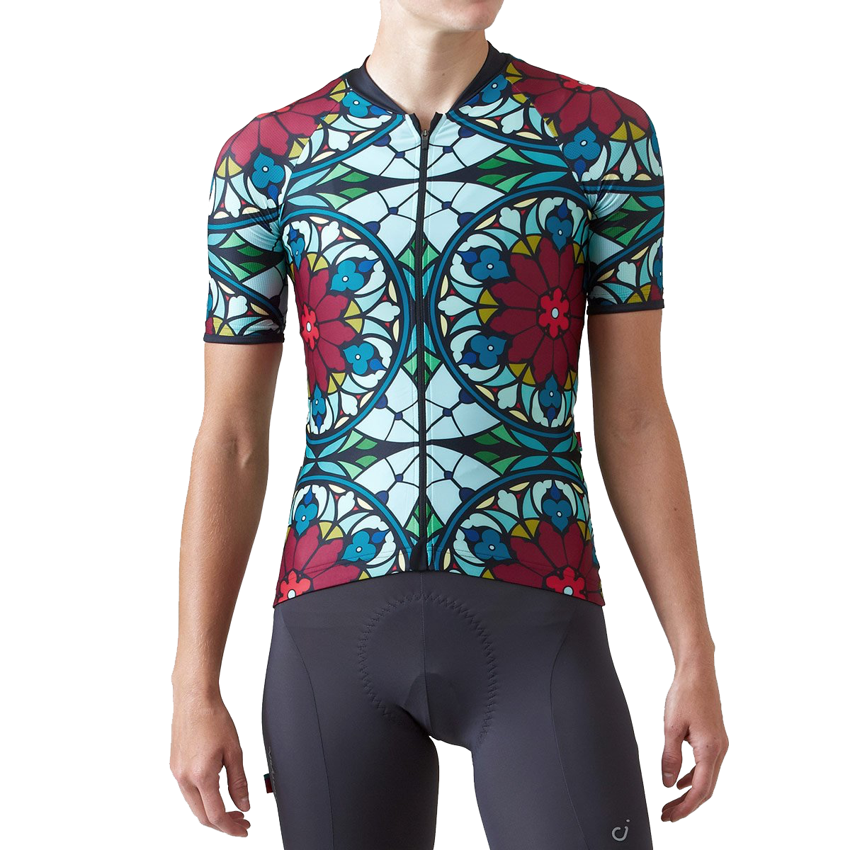 Velocio Women s Stained Glass ES Jersey – Mohn Standard 375a24cce