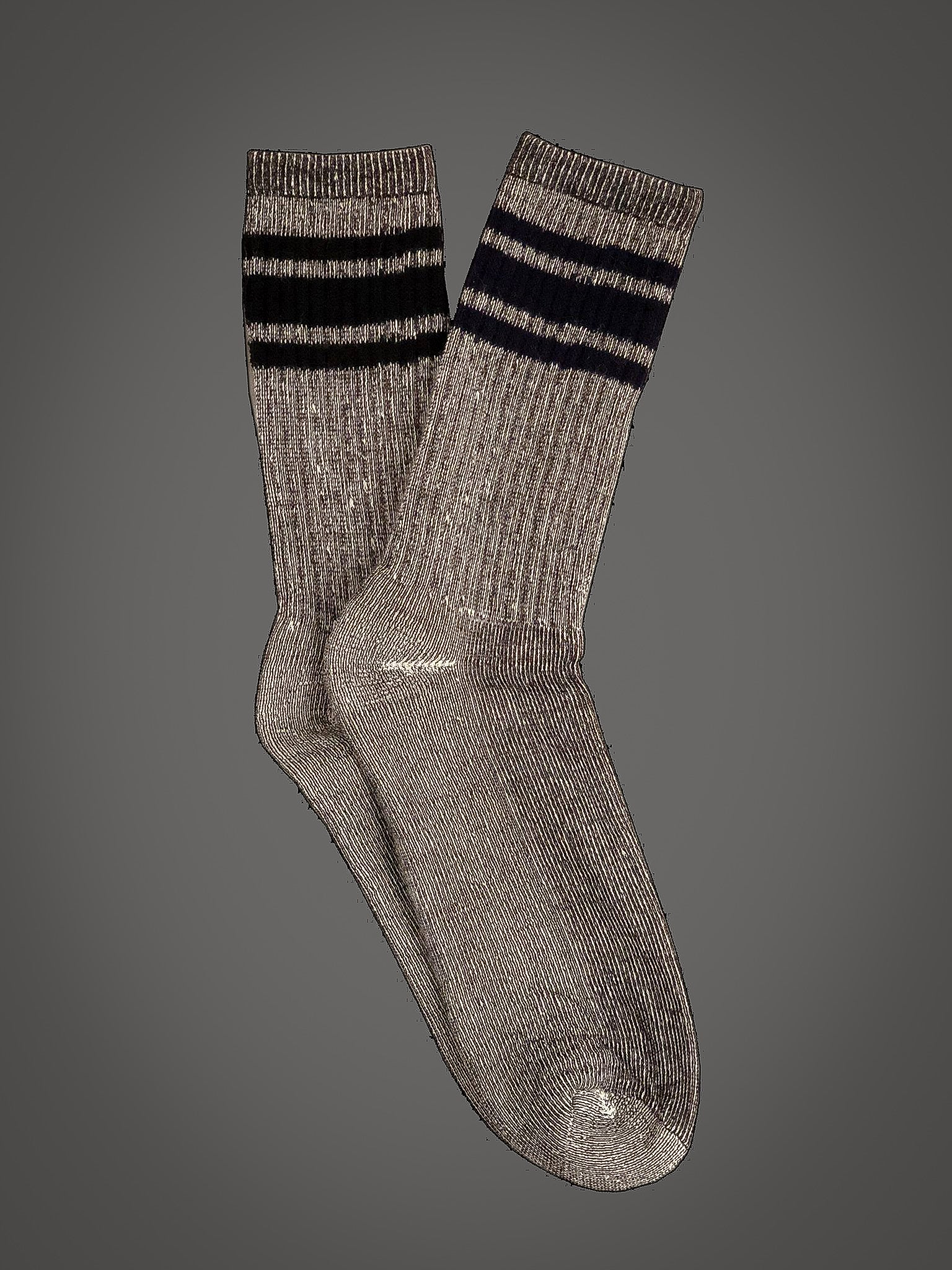 American Trench Merino Activity Sock With Silver