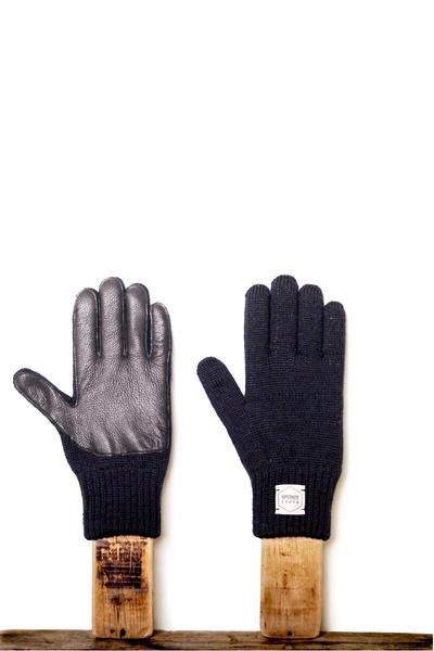 Upstate Stock Full Finger Melange Deerskin Glove