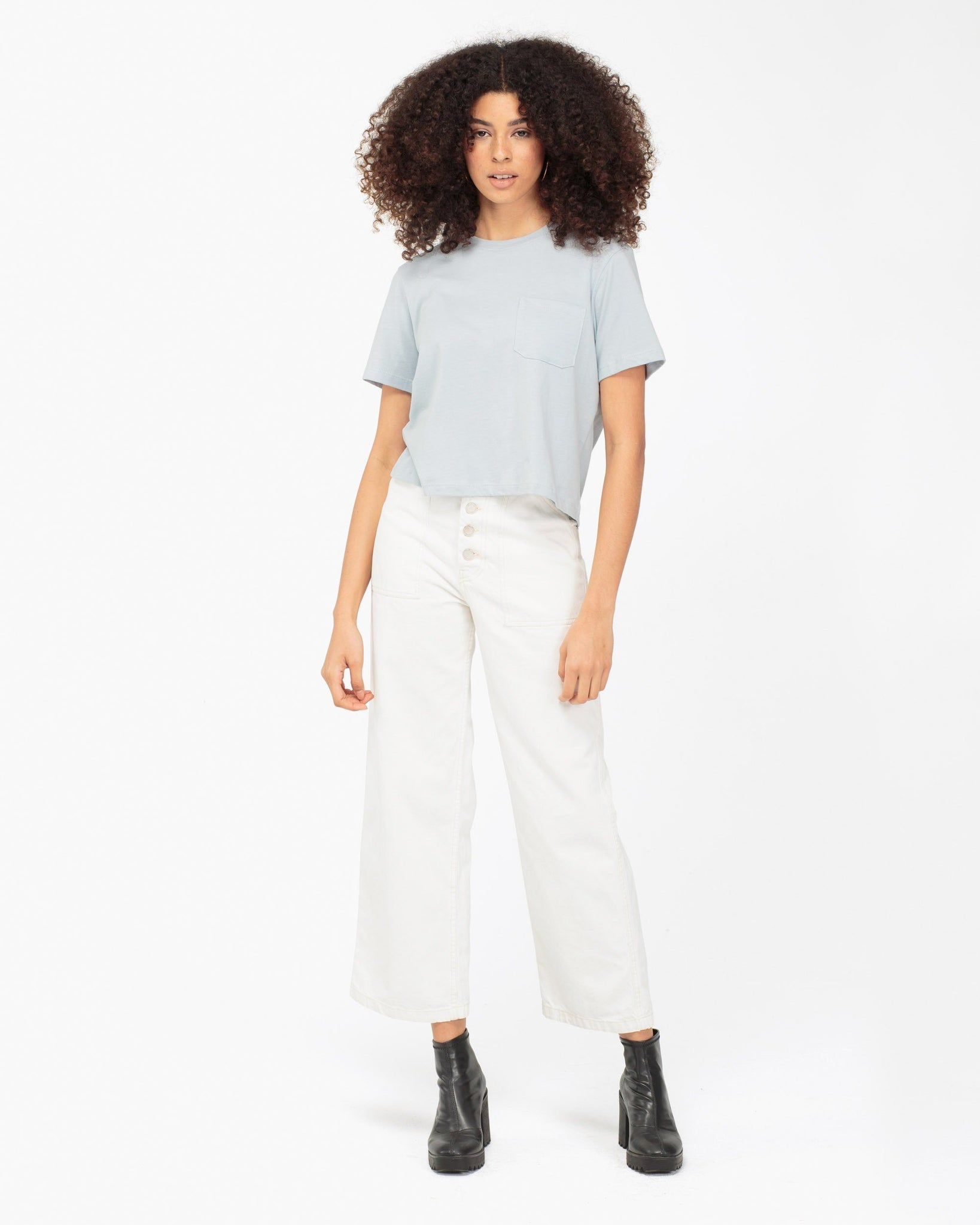 Richer Poorer Women's Boxy Crop Tee