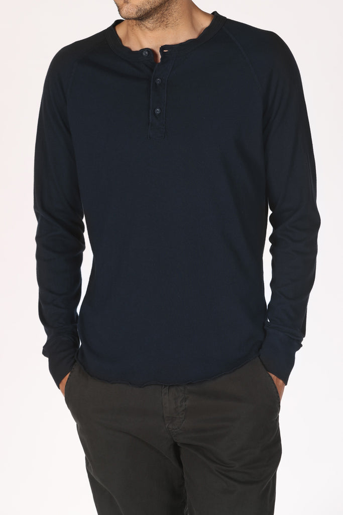 Save Khaki United Heavy Supima Henley