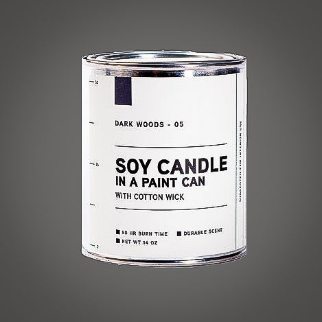 Manready Mercantile Paint Can Soy Candle