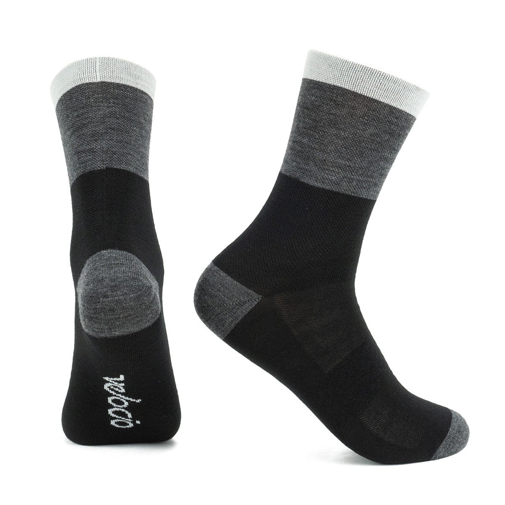 Velocio Tricolor Signature Wool Sock