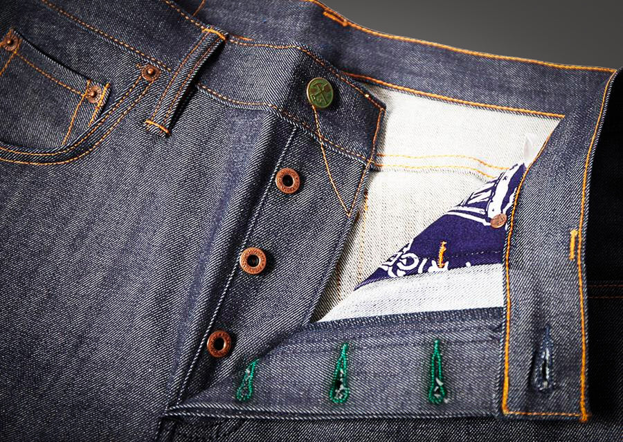 Mohn Standard x Left Field Collaboration Jeans