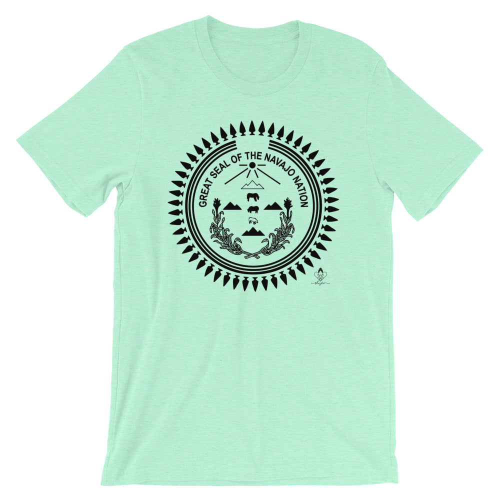 Black Navajo Nation Seal Tee