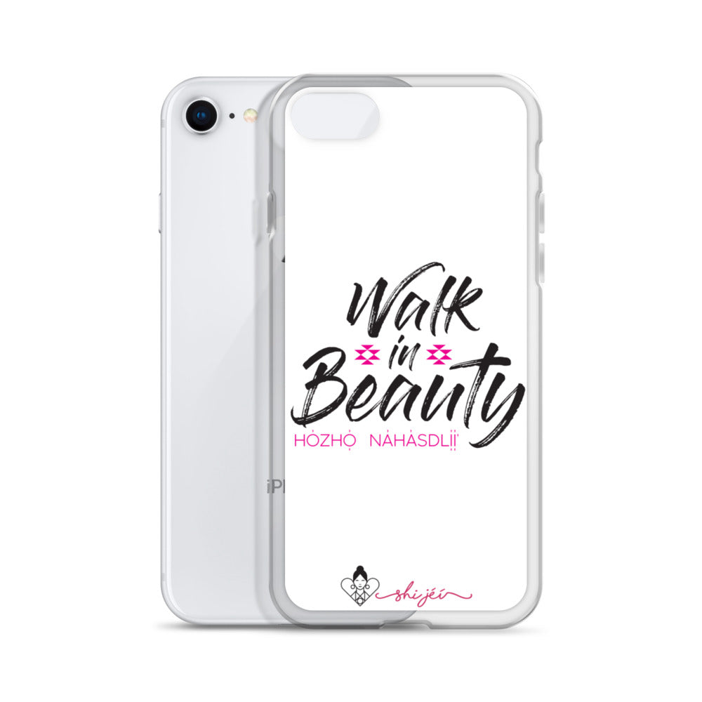 Walk in Beauty iPhone Case