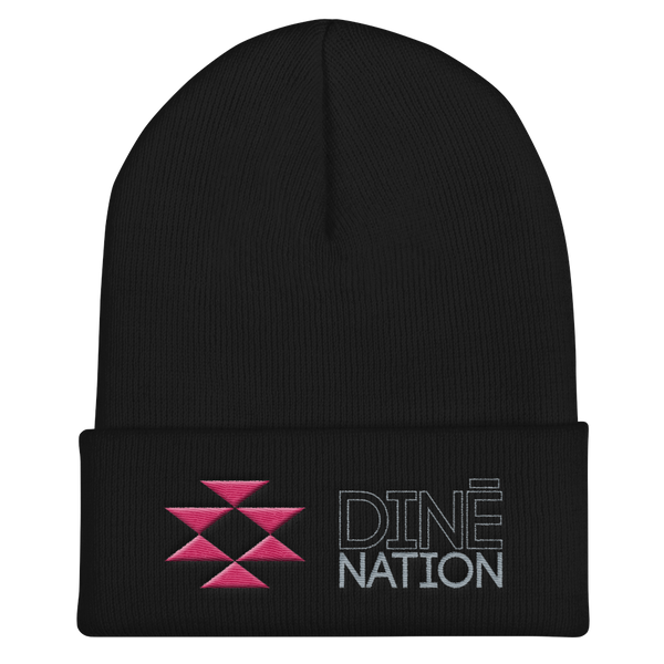 Dine Nation Cuffed Beanie