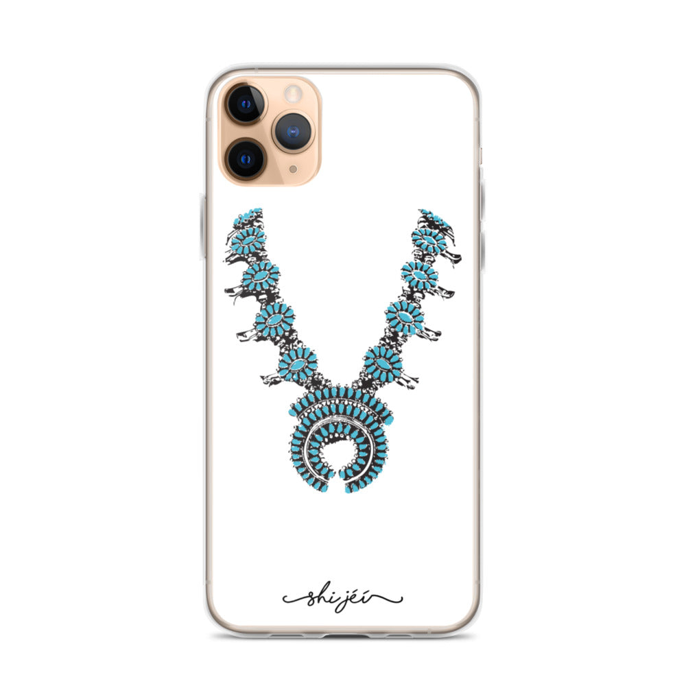 Turquoise Necklace iPhone Case
