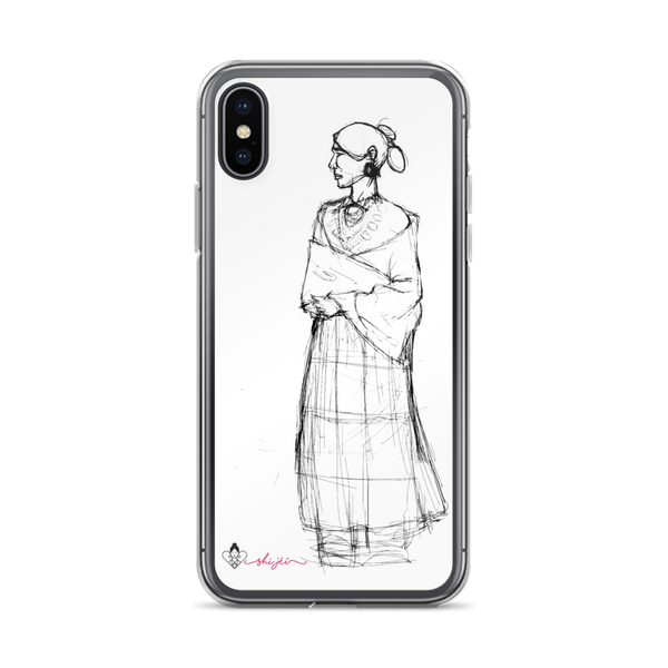 Navajo Woman iPhone Case