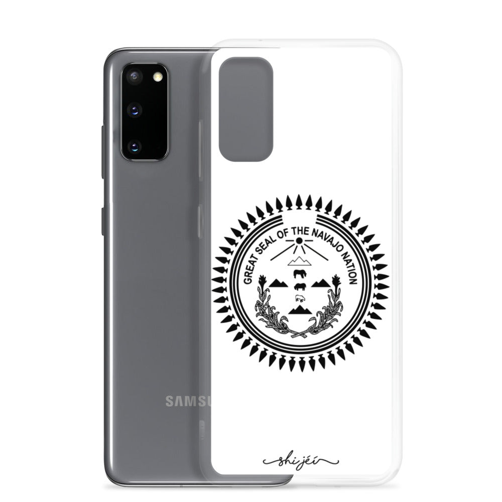 Black Navajo Nation Seal Samsung Phone Case