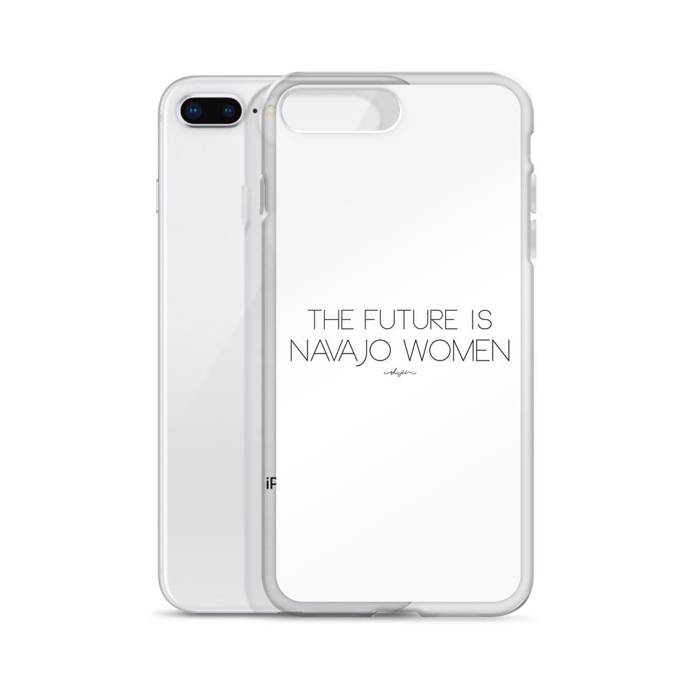 The Future is Navajo Women iPhone Case