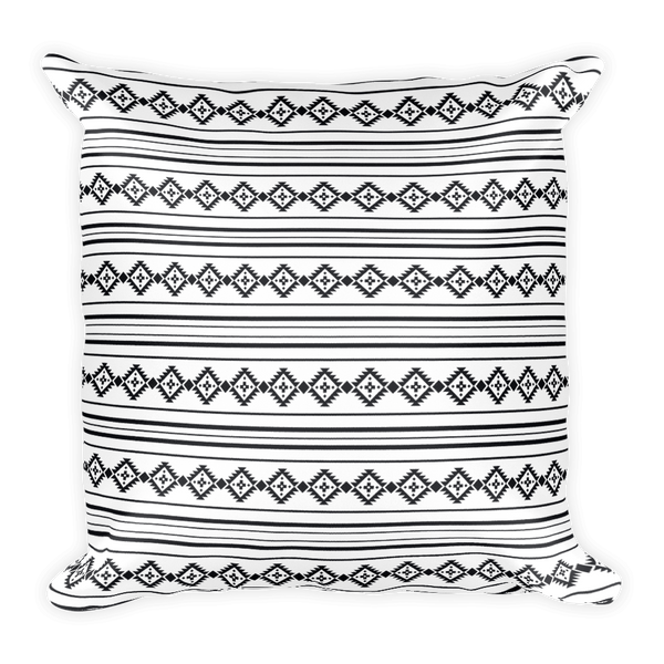 Native Thoughts Square Pillow