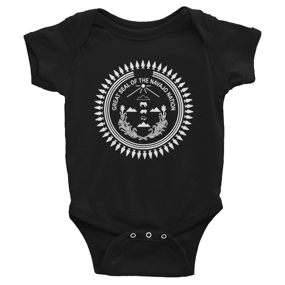 Infant Navajo Seal  Bodysuit