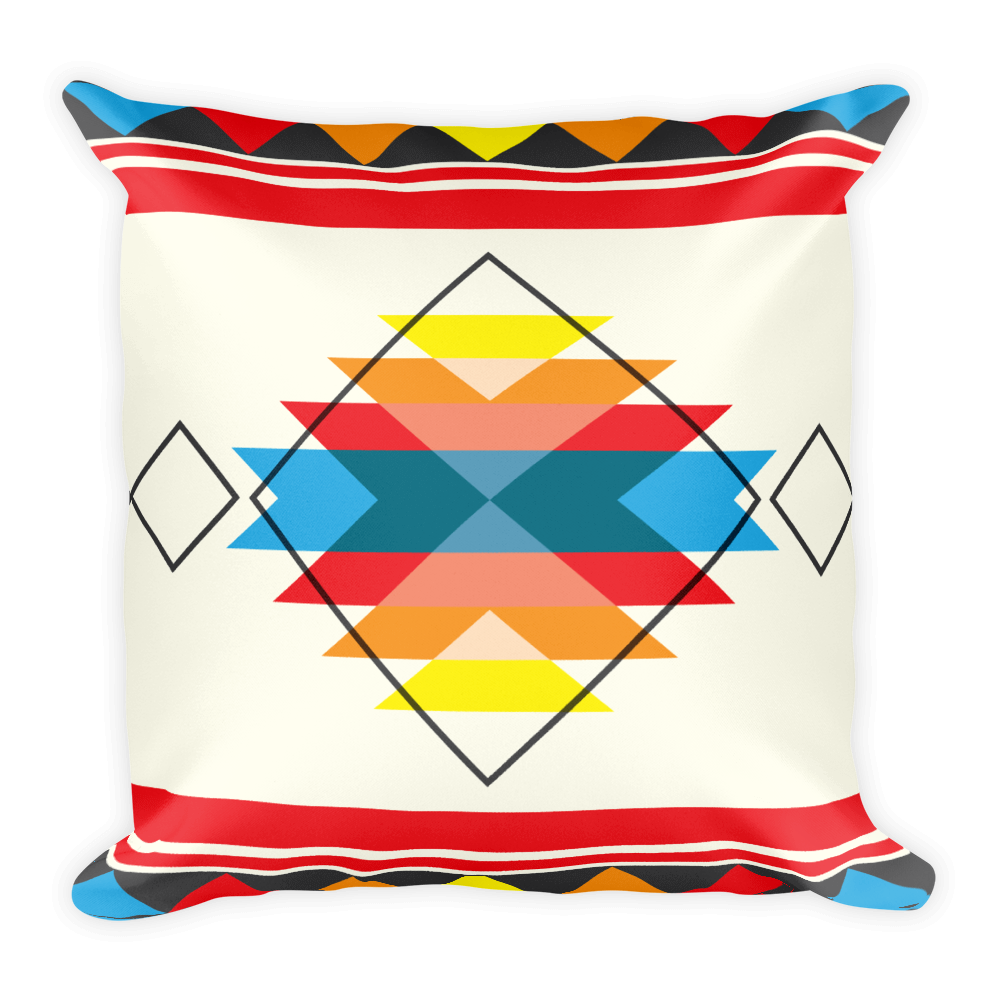 Sun Burst Square Pillow