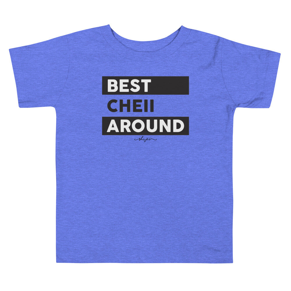 Best Cheii Around 2T-5T Toddler Tee