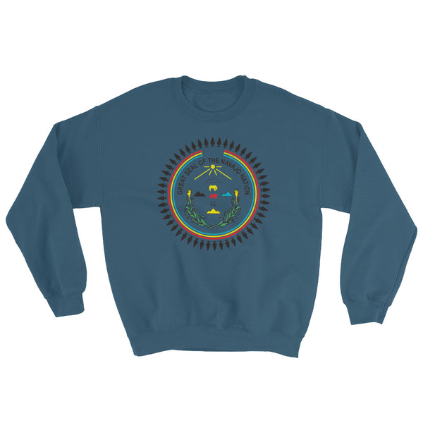 Navajo Full Color Seal Sweatshirt