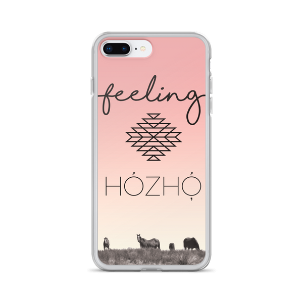 Feeling Hozho iPhone Case