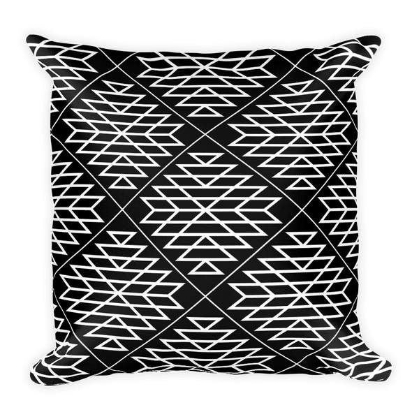 Black Diamond Square Pillow