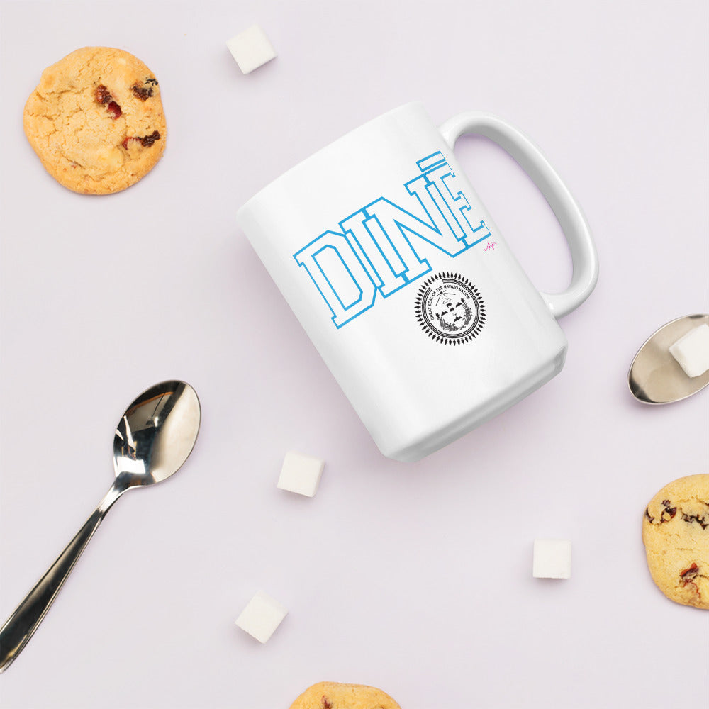 Diné with Navajo Nation Seal Mug