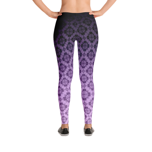 Purple Pendleton Leggings