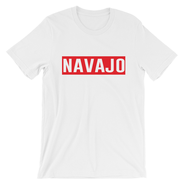 Red Navajo Stamp Tee