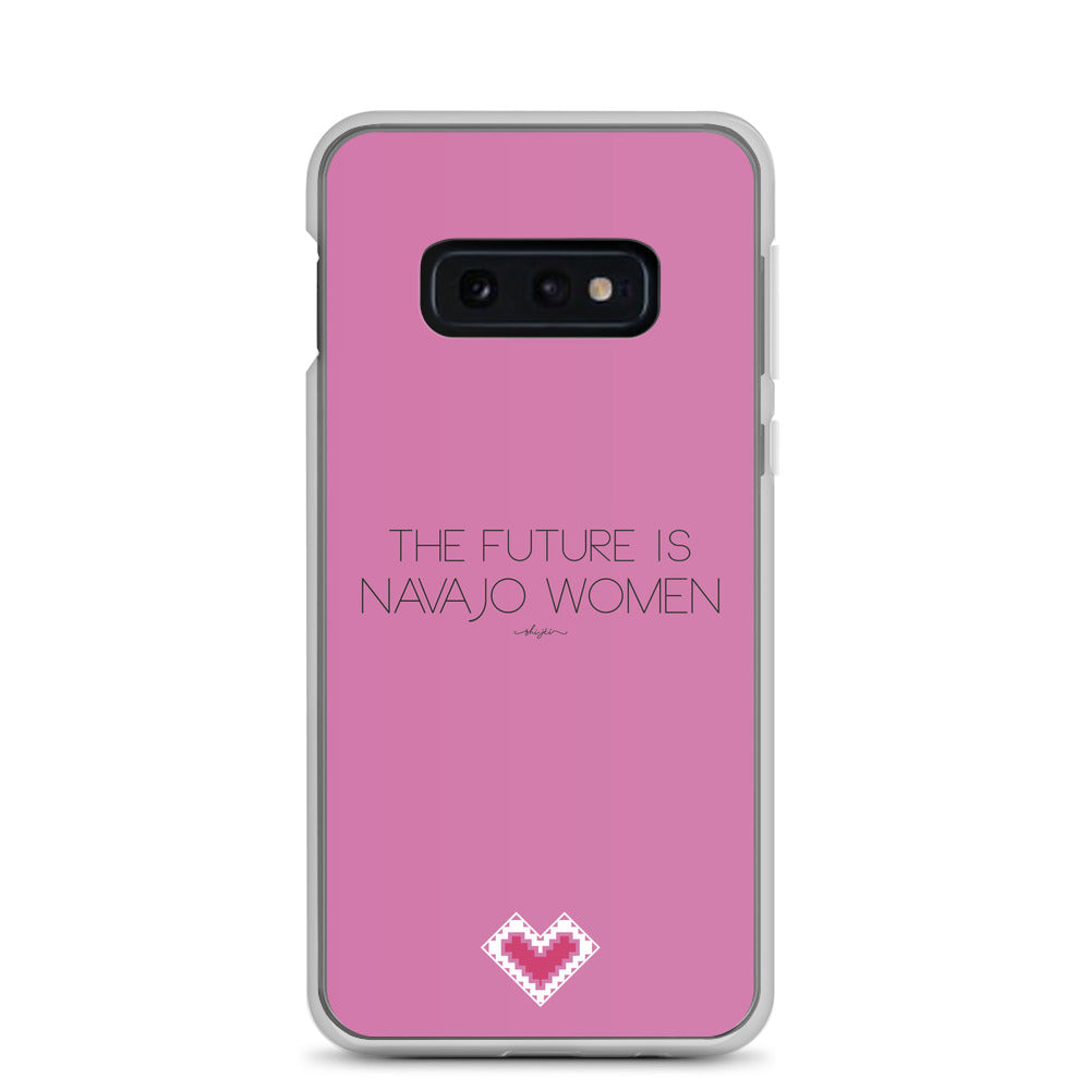 The Future is Navajo Women Samsung Case