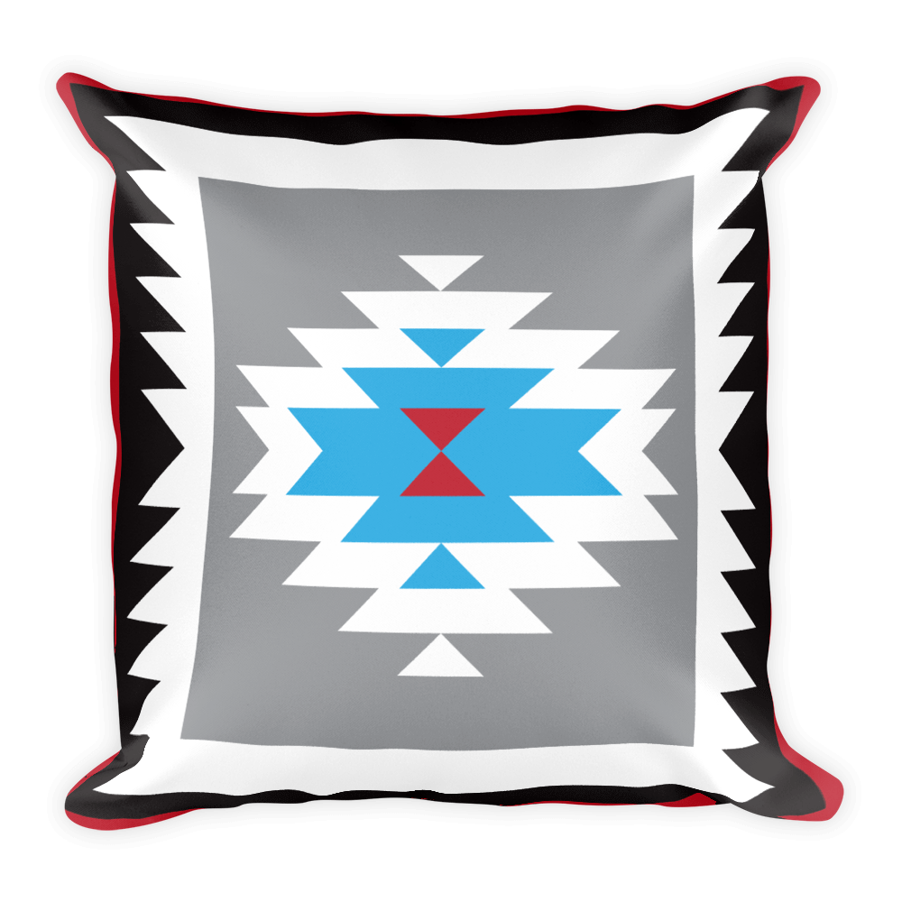 Navajo Rug Square Pillow