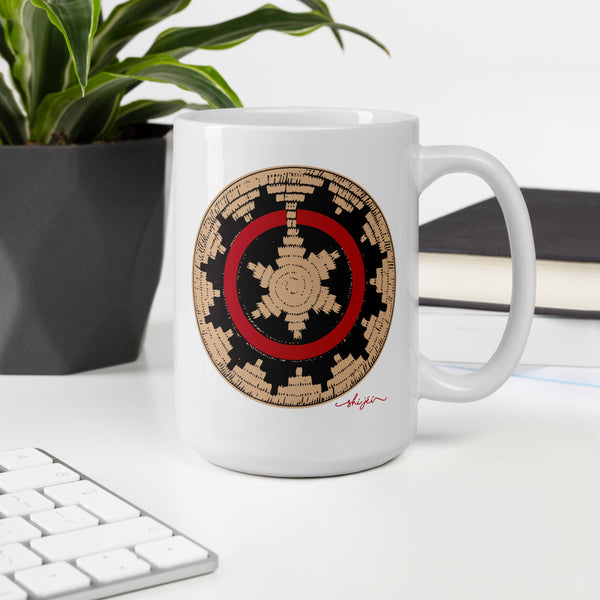 Navajo Wedding Basket Mug