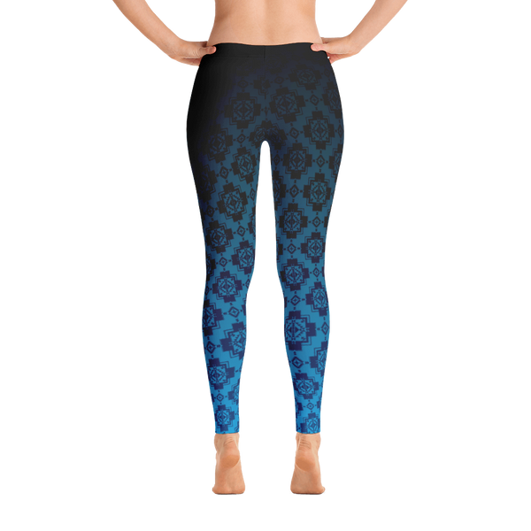 Teal Pendleton Leggings