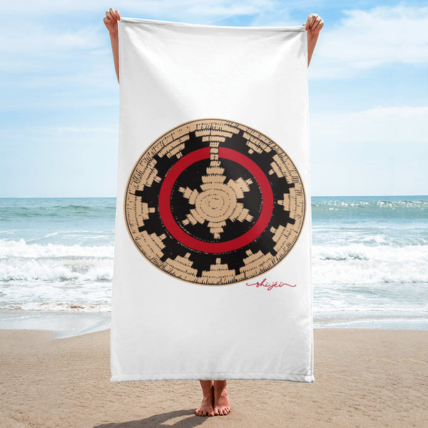 Navajo Wedding Basket Towel