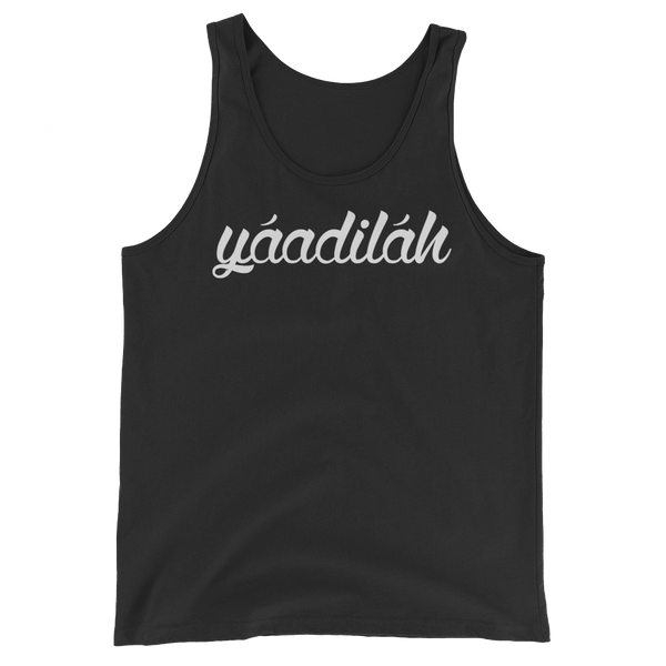 White Yaadilah Tank Top