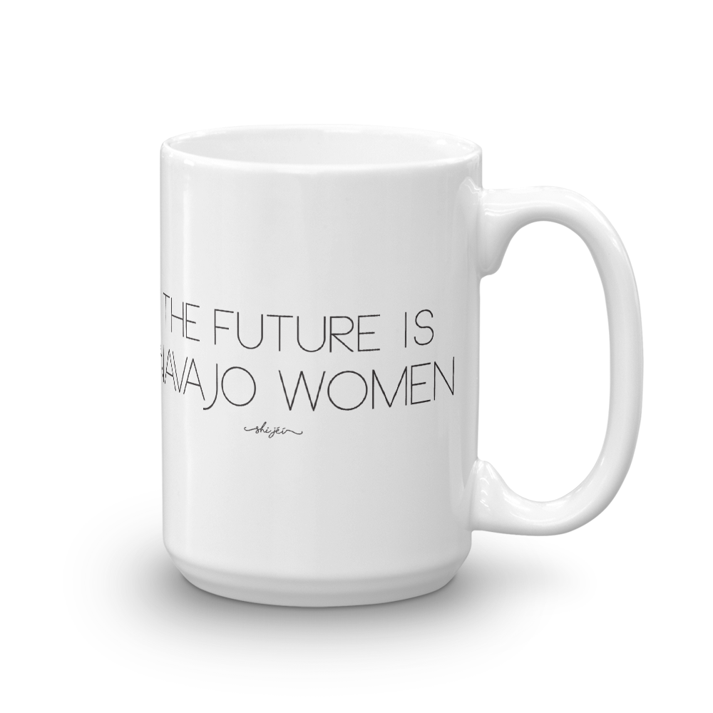 The Future is Navajo Women Mug