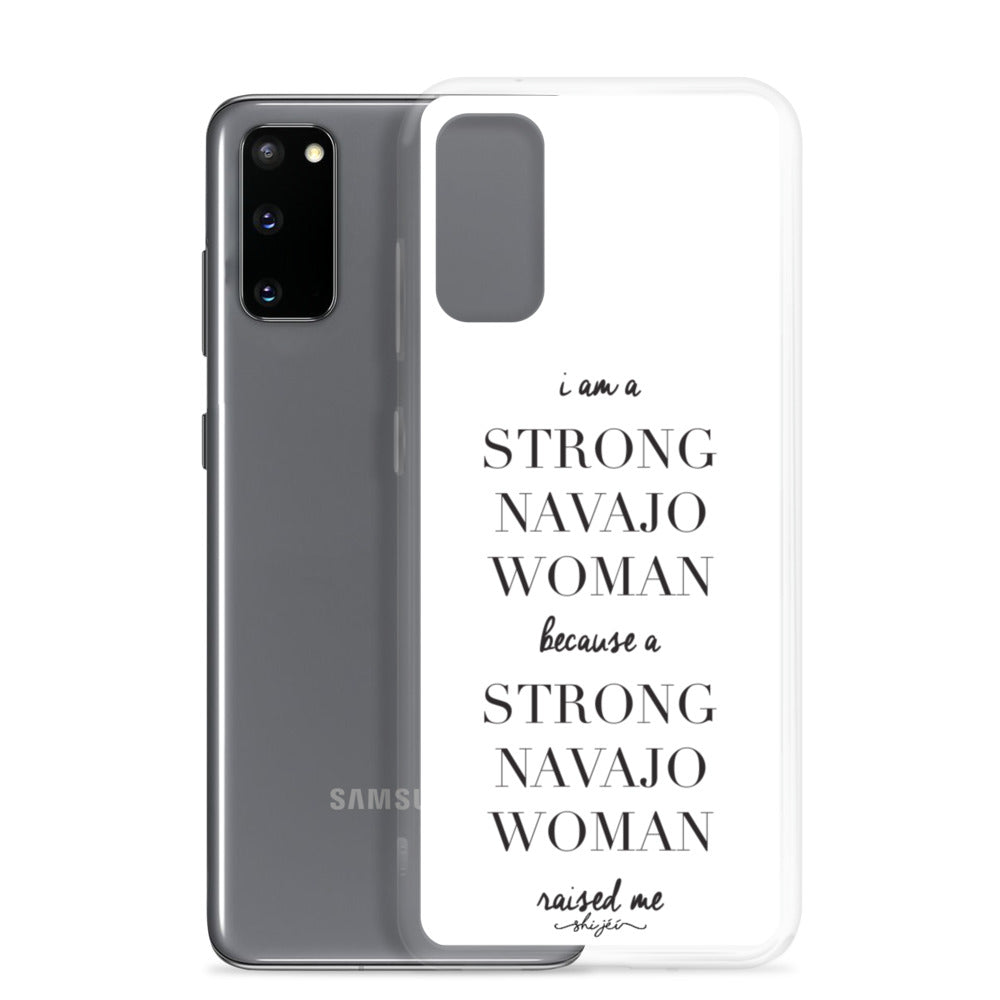 I am a Strong Navajo Woman Samsung Case