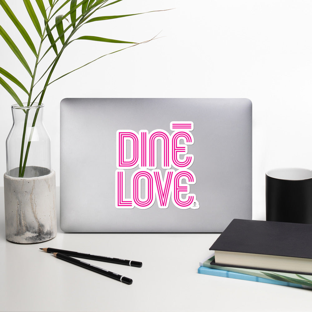 Diné Love Sticker