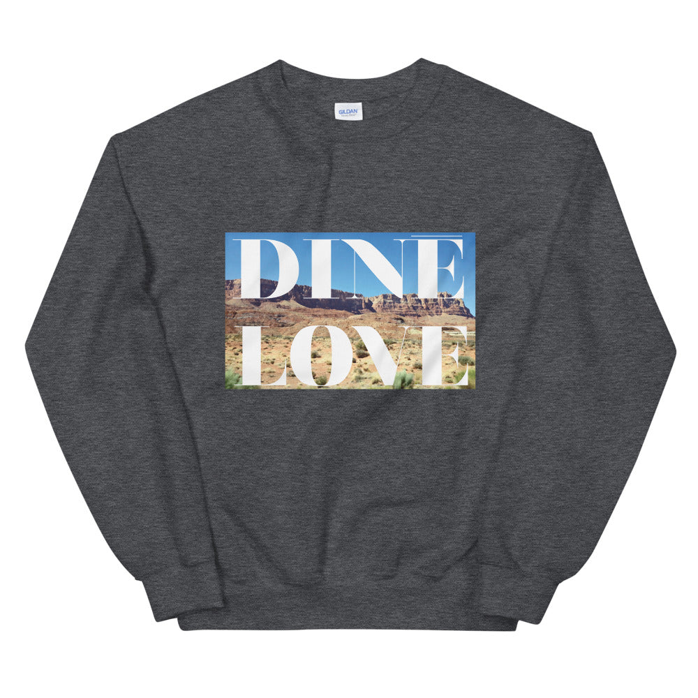 Diné Love Cliffs Sweatshirt