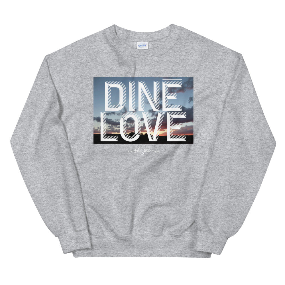 Dine Love Sunset Sweatshirt