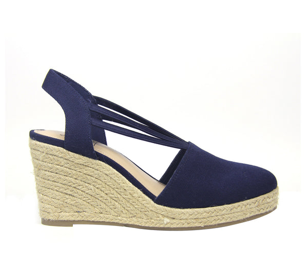 Taedra Stretch Wedge Sandal
