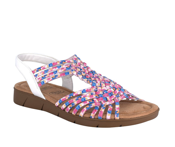 Bernette Stretch Sandal with Memory Foam