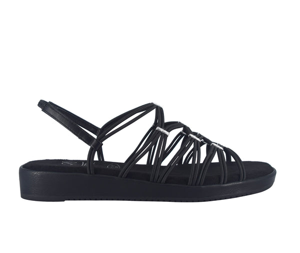 Bonnie Stretch Sandal with Memory Foam