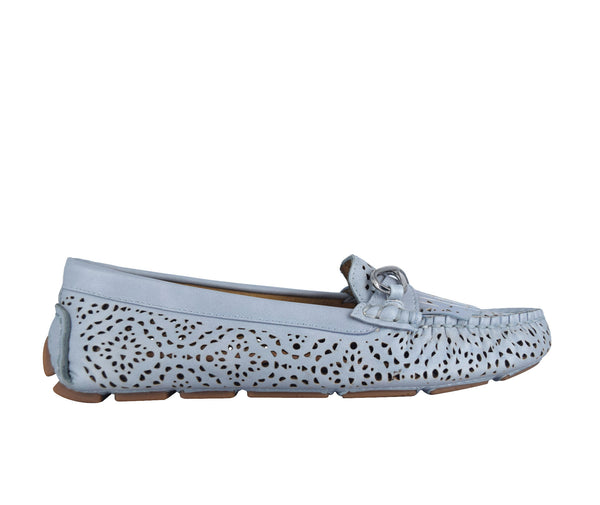 Cassie Laser Cut Loafer with Memory Foam