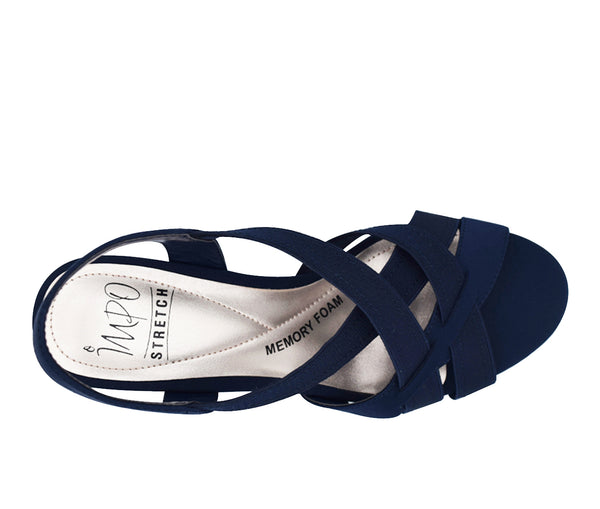 Editha Stretch Sandal with Memory Foam