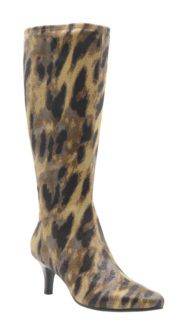 Noland Stretch Dress Boot (Exotics)
