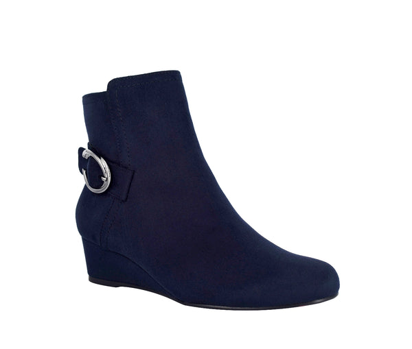 Guevera Wedge Bootie with Memory Foam