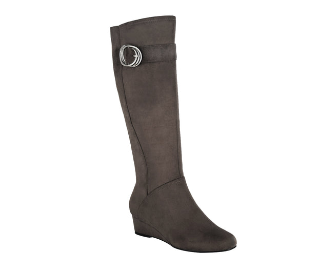 Gully Stretch Wedge Boot with Memory Foam