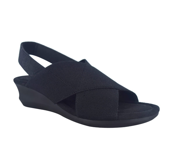 Geena Stretch Sandal with Memory Foam
