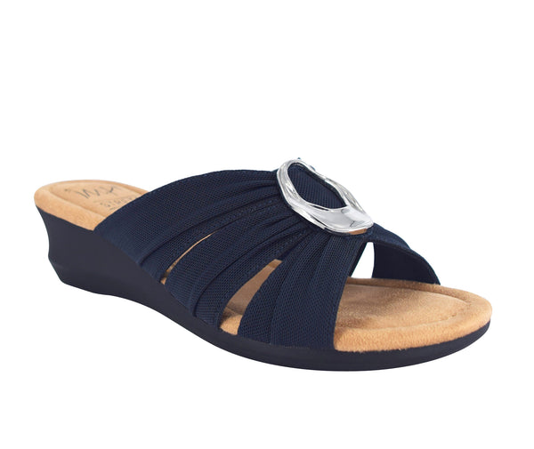 Geneen Slide Sandal with Memory Foam