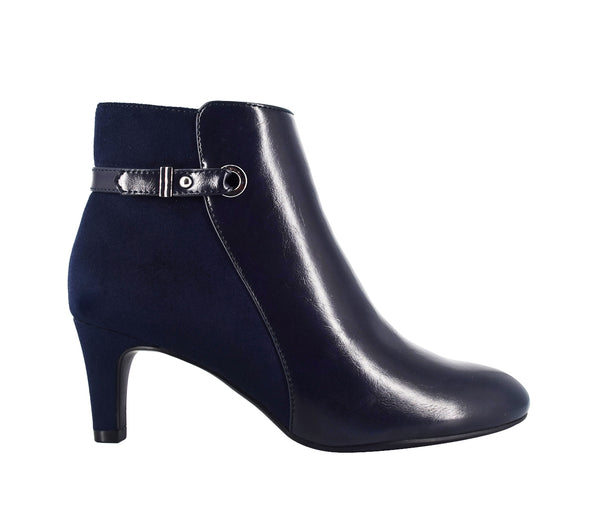 Nelaina Ankle Bootie with Memory Foam