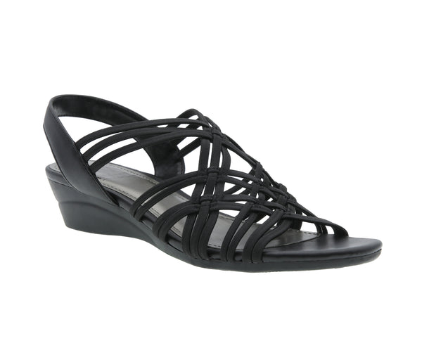 Rainelle Stretch Wedge Sandal