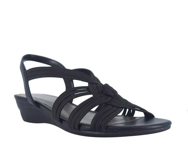 Ramsey Wide Width Stretch Elastic Sandal with Memory Foam