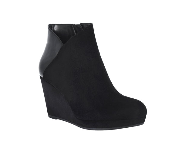 Toni Platform Wedge Ankle Bootie